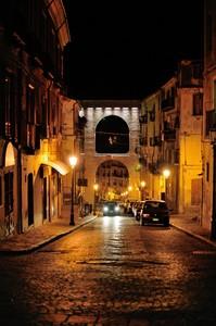 È sera – Ponte Canale by Night