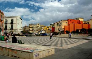 piazza Troisi: un omaggio al grande Massimo