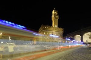 Piazza della Signoria – Luci nella notte