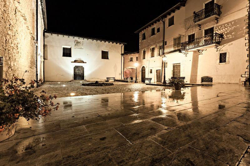 ''Piazza Santa Croce'' - Leonessa