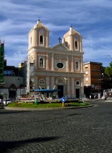 piazza San Ciro nelle ore pomeridiane