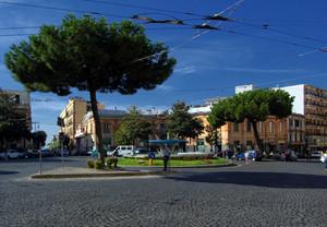 piazza San Ciro ed il suo emiciclo