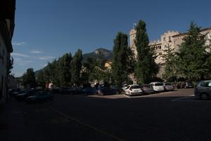 Trento: piazza della Mostra