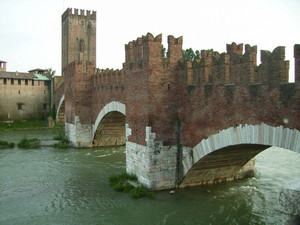Another view of Ponte Scaligero