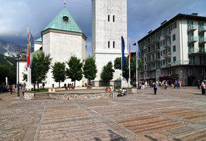 Nuvoloni su Cortina