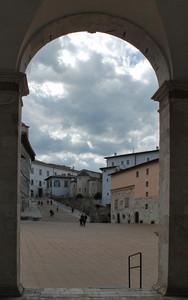 piazza Duomo incorniciata