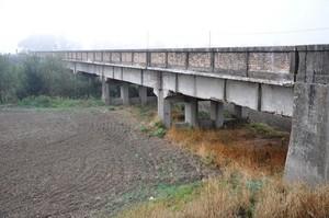 Ponte della SP 60 sul torrente Cervaro