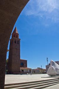 Chiesa San Ponziano Carbonia-Piazza Roma-