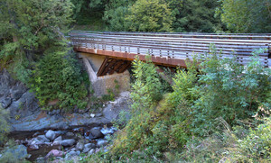 Ponte De La Clom torrente Fersina