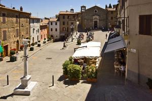 Piazza Garibaldi – Montalcino