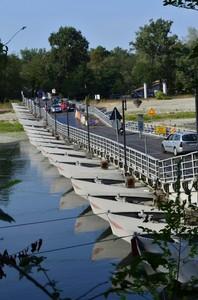 il ponte di chiatte di bereguardo