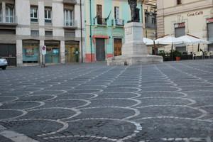 Sulmona piazza XX Settembre