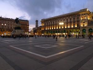 …che bello passare in piazza Duomo prima di andare a casa!