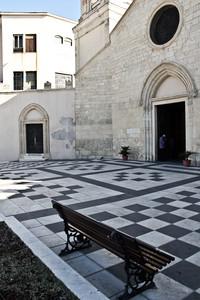 Piazzetta sulla chiesa del Redentore -Monserrato-