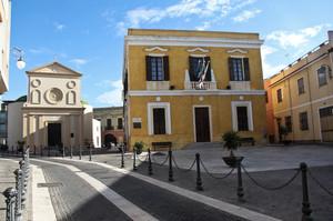Piazza Maria Vergine -Monserrato-