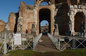 Passerella dell'Anfiteatro Capuano