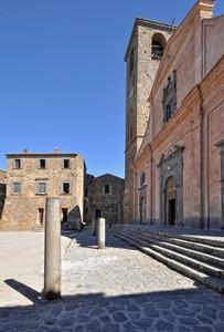 ''Piazza San Donato lateralmente'' - Bagnoregio