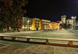 Piazza Cermenati notte