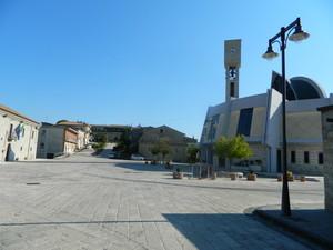 Piazza San Rocco e la Chiesa omonima