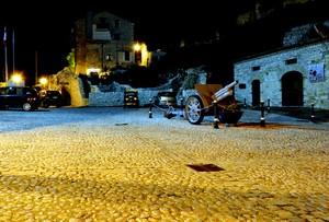 """ Memoria di notte"" – Piazza San Nicola – San Pietro Infine (Caserta)"