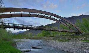 Il Ponte del Pista ciclopedonale