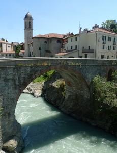 Il ponte sulla Dora Baltea, l'altro lato