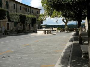 Il lato nord di Piazza della Repubblica