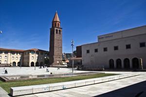 Panoramica di Piazza Roma