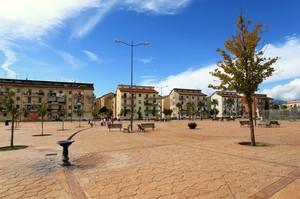 una piazza popolare