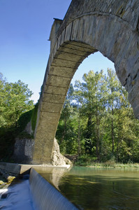La volta del ponte di Olina