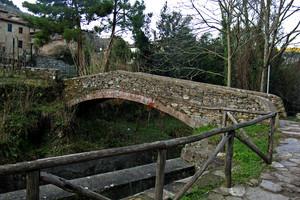 il ponte a Pieve di Compito