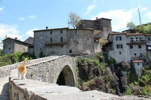 Il ponte a Borgo San Michele
