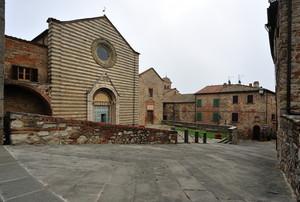 Piazza San Francesco vista da sopra