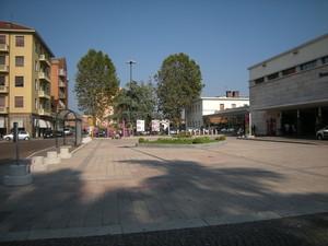 Asti, piazza della stazione