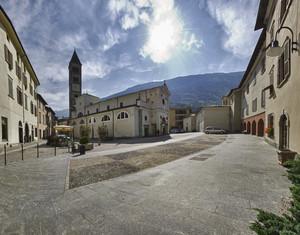 Piazza San Martino a Tirano