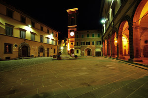 Piazza Cavour in verde
