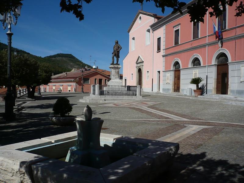 ''Piazza Unità d'Italia'' - Brienza