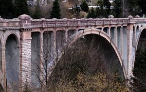 L'arcata centrale del Ponte