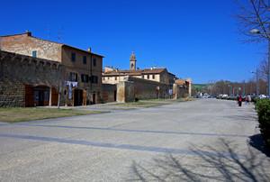 la piazza del mercato del Sabato