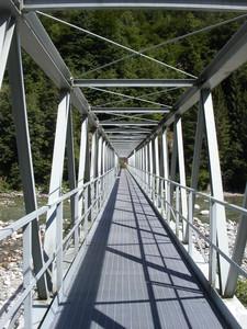 ponte pedonale in ferro