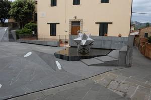 La piazza di Vinci