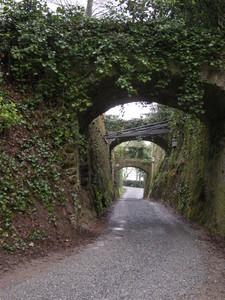 Busca, ponticello al Castello del Roccolo