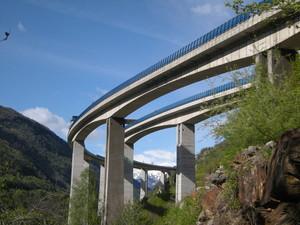 Chiomonte, viadotto dell'autostrada