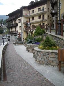 piazza Amé Gorret, Valtournenche