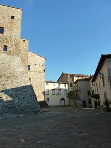 La piazza della rocca