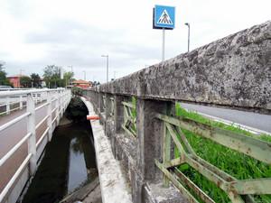 Ponte stradale e passerella pedonale