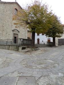 La piazza di Rocchetta