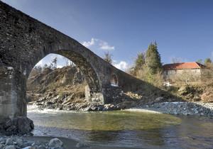 Il ponte medioevale di Tiglieto