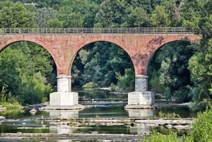 Ovada, ponte ferroviario
