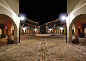 Le luci della piazza